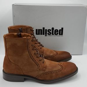 Unlisted by Kenneth Cole Buzzer Wingtip Boots